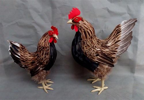 Simulación lindo modelo pollito bonito polietileno y pieles gallina 11 modelo decoración del hogar Accesorios, modelo regalo d376