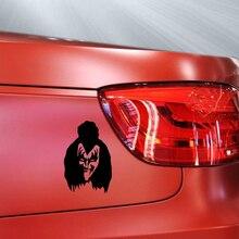 HotMeiNi etiqueta engomada del coche de la banda de Rock famosa Horror Terrible máscara de demonio Gene Simmons estilo de coche impermeable adhesivo para camión 15*13 cm