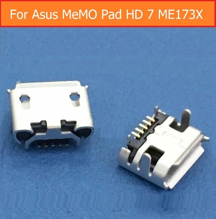 Genuino cargador USB hembra para ASUS MeMO Pad HD 7 ME173X sincronización...