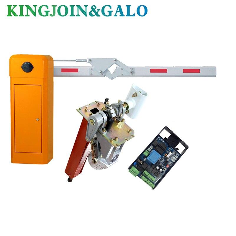Operador de puerta de barrera de brazo único Industrial, maquinaria de alta calidad Puerta de barrera de 90 grados