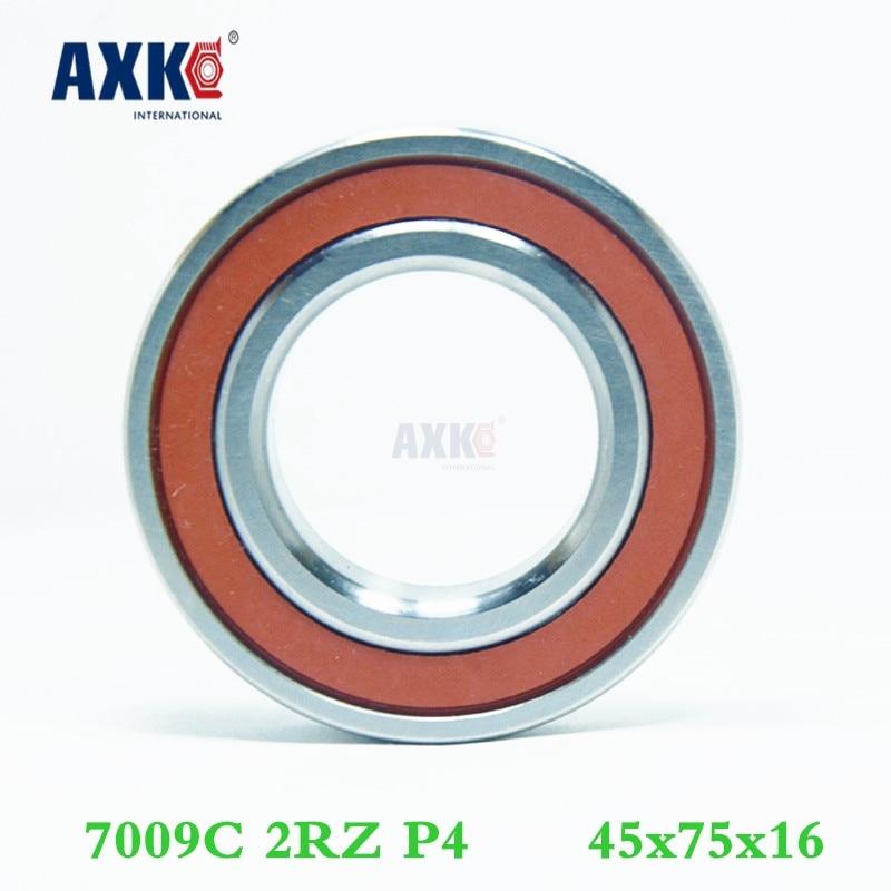 Axk 7009 7009c 2rz P4 45x75x16 rodamientos de contacto Angular sellados rodamientos...