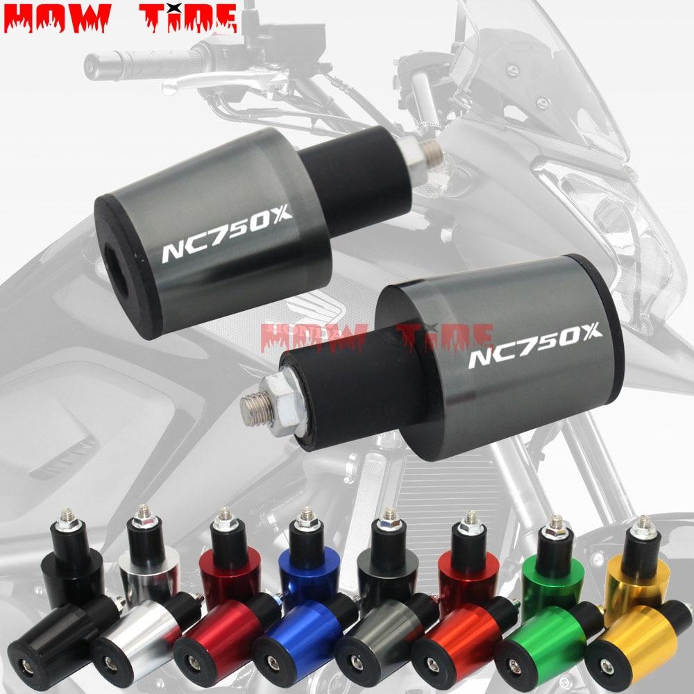 Accesorios de motocicleta 7/8 22 MM empuñaduras de manillar tapa del manillar tapones de extremo para HONDA NC 750 X NC750X NC 750X 2016