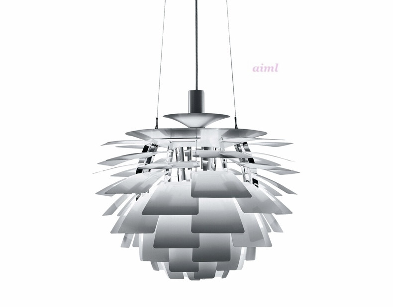 Nordic modern Pastoral piece of pine nuts after the modern creative personality and creative aluminum cone decora pendant light  - buy with discount