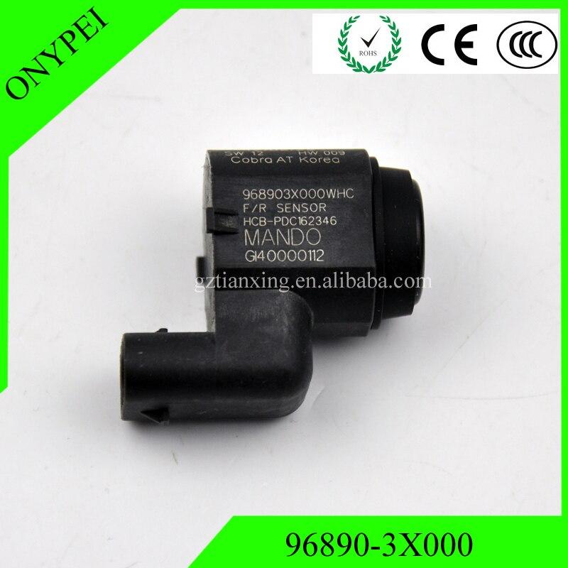 96890-3X000 4MS271H7D negro aparcamiento PDC Sensor para Hyundai Elantra MD Azera 968 968903X000
