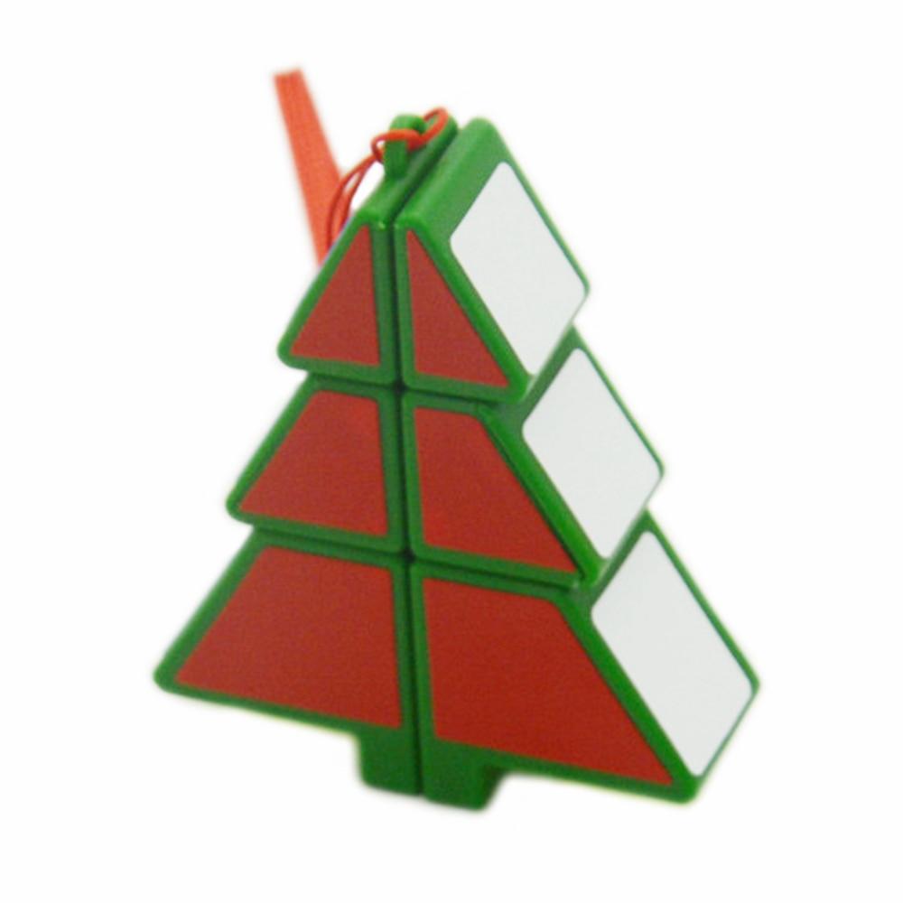 Куб для рождественской елки Babelemi 1x2x3, волшебный куб, скоростные Кубики-головоломки, детские развивающие игрушки