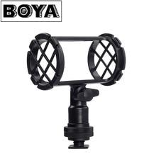 BOYA BY-C04 Microphone de caméra support anti-choc pour AKG D230 Senheisser ME66 Rode NTG-2 NTG-1 audio-technica AT-875R Sony ECM-CG50