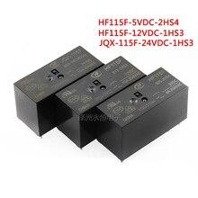 2 pz/lotto Relè JQX-115F HF115F-005-1HS3 HF115F-012-1HS3 HF115F-024-1HS3 6PIN 16A