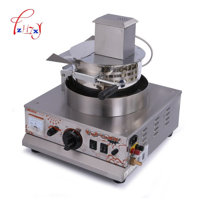 Máquina de palomitas de maíz de aire caliente de uso doméstico comercial de gas eléctrico VBG-701 máquina de palomitas de maíz 1pc