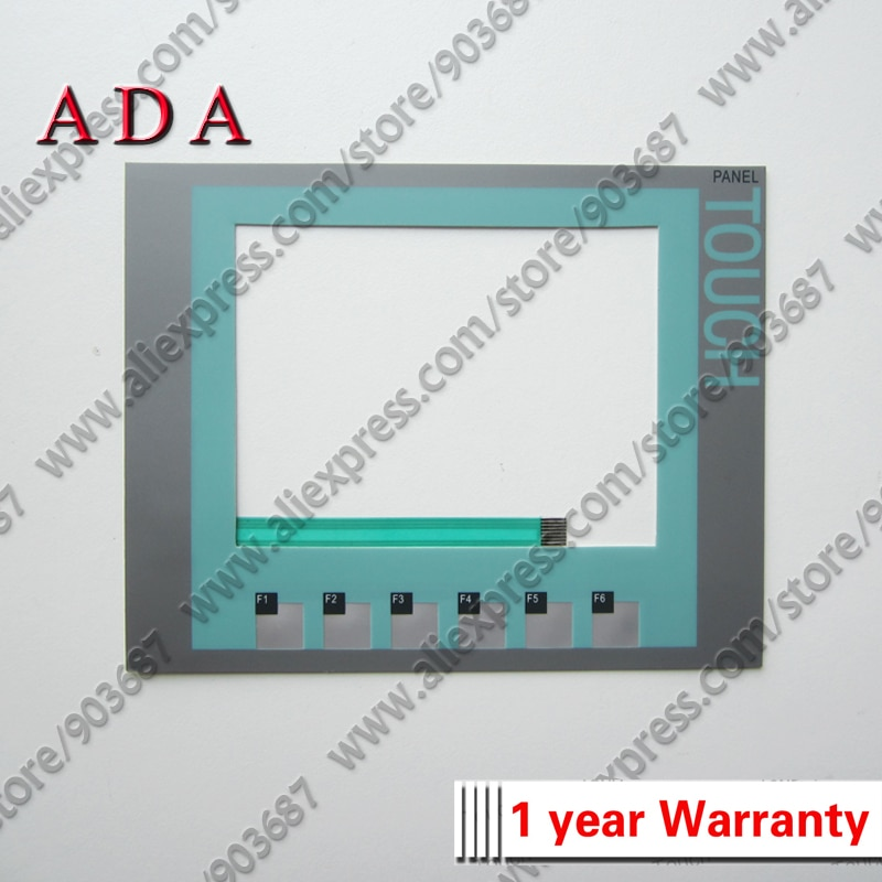 Interruptor de teclado de membrana 6AV6647-0AB11-3AX0 KTP600 para teclado de membrana 6AV6 647-0AB11-3AX0 KTP600