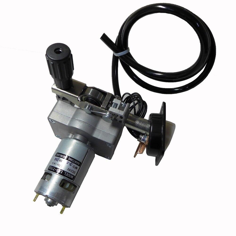 24V ZY775 LRS-775S Cable Alimentación montaje cable alimentador Motor Euro conector MIG Soldadura MAG máquina soldadora