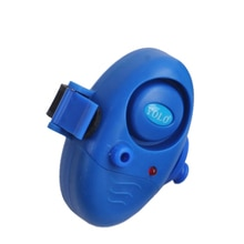 Fishing Rod Sound Buzzer LED Light Clip Bite Alarm
