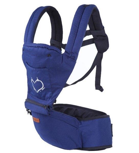 ¡Promoción! Mochila de portador de bebé marrón/Negro ergonómico mochila portabobe