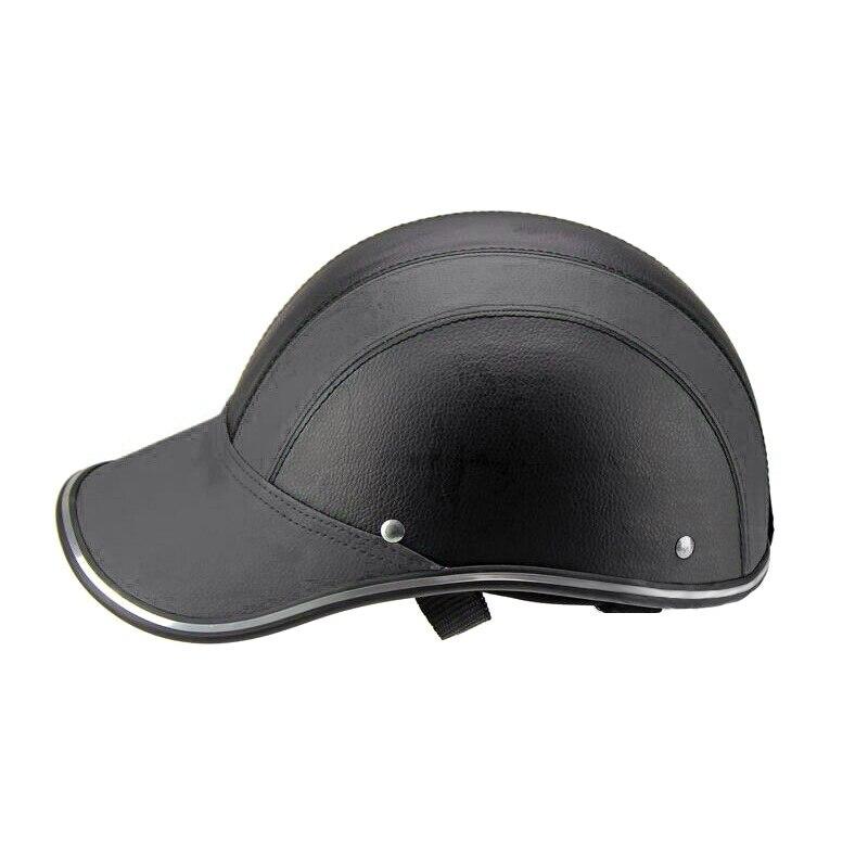 Cool Men's Bicycle Helmet Half Face Protective Men/Women Adult Motorbike/Bike Helmet ABS Safety Caps