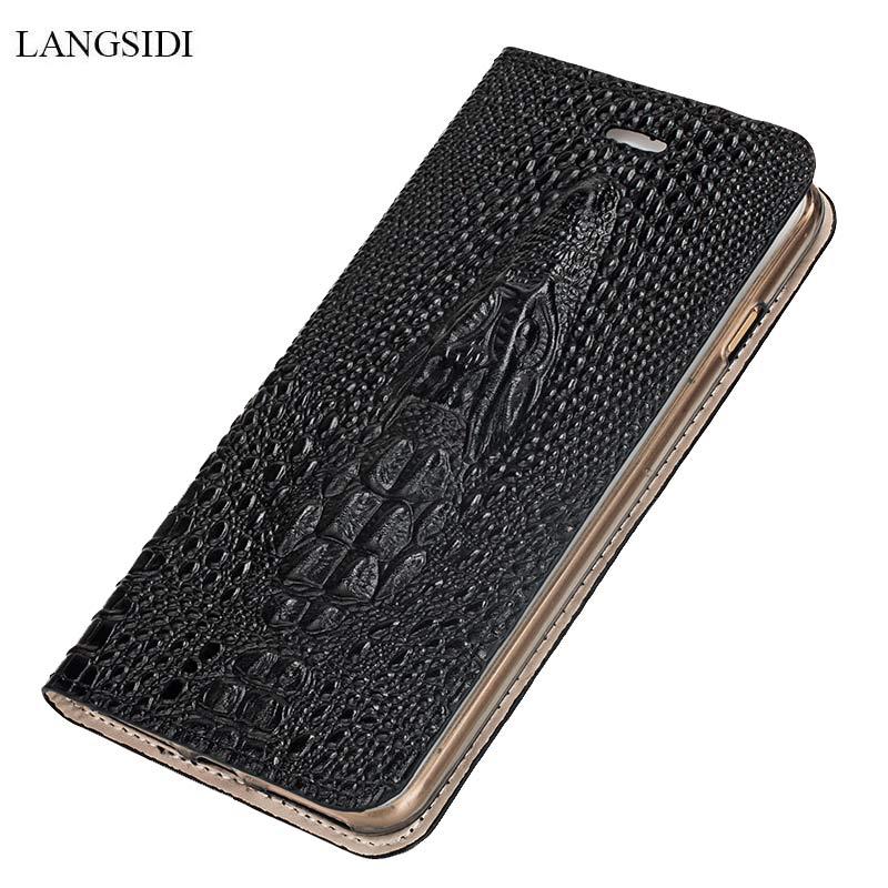 Crocodilo crânio caso de telefone para huawei companheiro 9 10 pro p10 p20 p40 pro p30 lite cartão protetor flip capa para honra 20 pro 10 8x