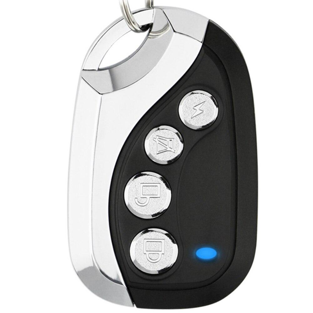 Grabador de código de Control remoto para llavero de puerta de coche Universal 433,92 Mhz inalámbrico canal RF4 de clonación eléctrica para garaje de puerta