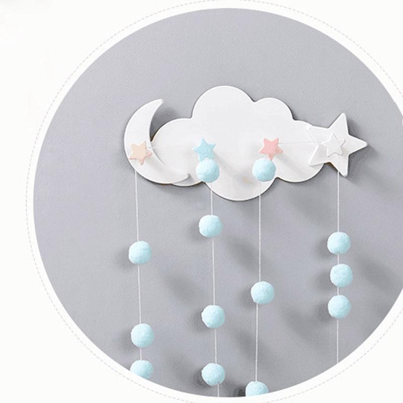 Creativ drăguț în formă de nor, lună și soare fără cârlige - Organizarea și depozitarea în casă - Fotografie 6