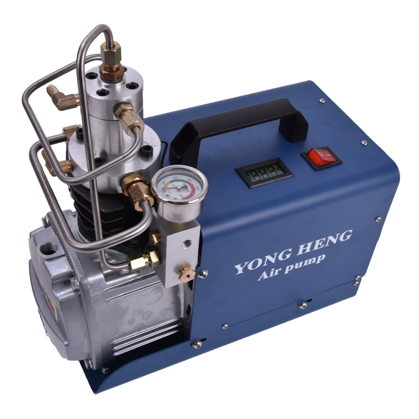 300BAR 30MPA 4500PSI High Pressure Air Pump Electric Air Compressor for Pneumatic Airgun Scuba Rifle PCP Inflator 40L/min