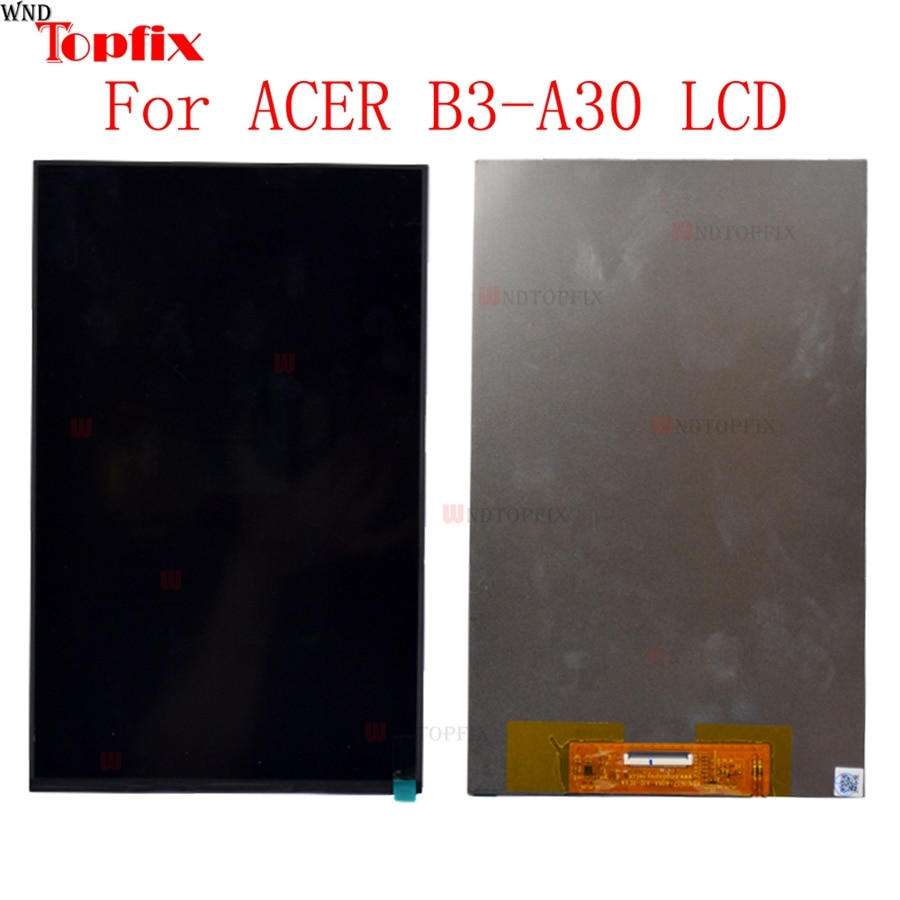 Pantalla LCD de 10,1 pulgadas para Acer Iconia One 10 B3-A30 A6003 matriz tablet pantalla LCD para Acer Iconia One 10 B3-A30 reemplazo