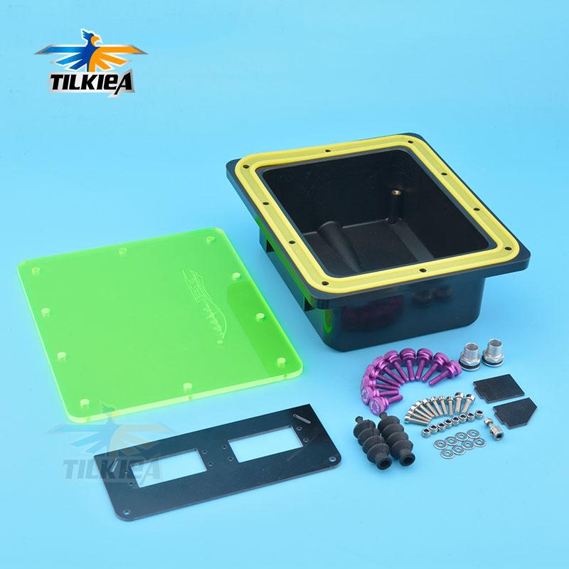 Gute Qualität Wasserdicht Versiegelt Servo Radio Box Mit Ersatzteile für Marine Gas Nitro RC Boot