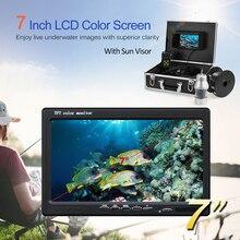 Fish Finder 1000TVL Underwater Ice Fishing Camera 360 degree rotating Camera 7 Inch LCD for Ice Lake Boat Fishing Deeper Monitor