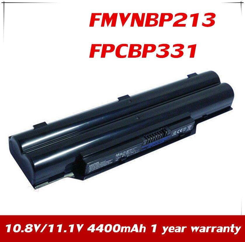 7 xinbox 10.8 v/11.1 v 6 células fpcbp331 fpcbp347ap bateria do portátil para fujitsu lifebook a532 ah532 ah532/gfx fmvnbp213 P567717-01