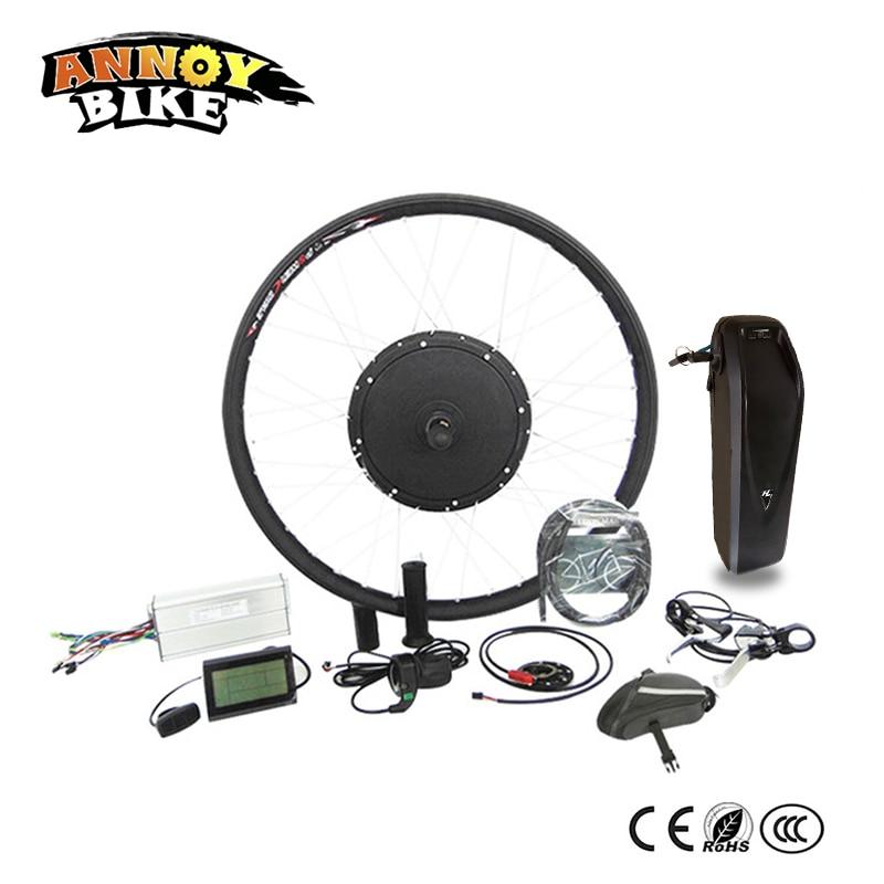 Kit de conversión de rueda de Motor eléctrico de 48v y 1000w,...