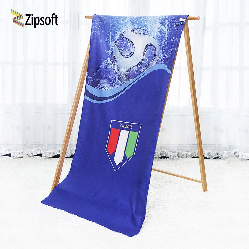 Marca Zipsoft de microfibra toallas de secado rápido de gran tamaño de la toalla de playa havlu baño esterilla para deportes y yoga manta suave para hombres 2019