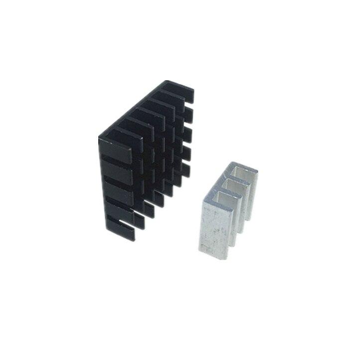 Disipador térmico de aleación de aluminio de 5 uds. 20x20x6mm/11x11x5,5mm para transmisor FPV TS5828 TS5828L TS5823 TX526