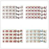 4 colors 40pcs rainbow unicorn prints elastic hair band knotted hair tie bracelet bangle foe ponytail holder hair accessories