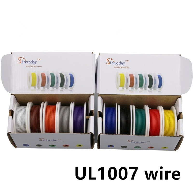 Cable eléctrico trenzado Flexible, línea de Cable de línea de cobre de...