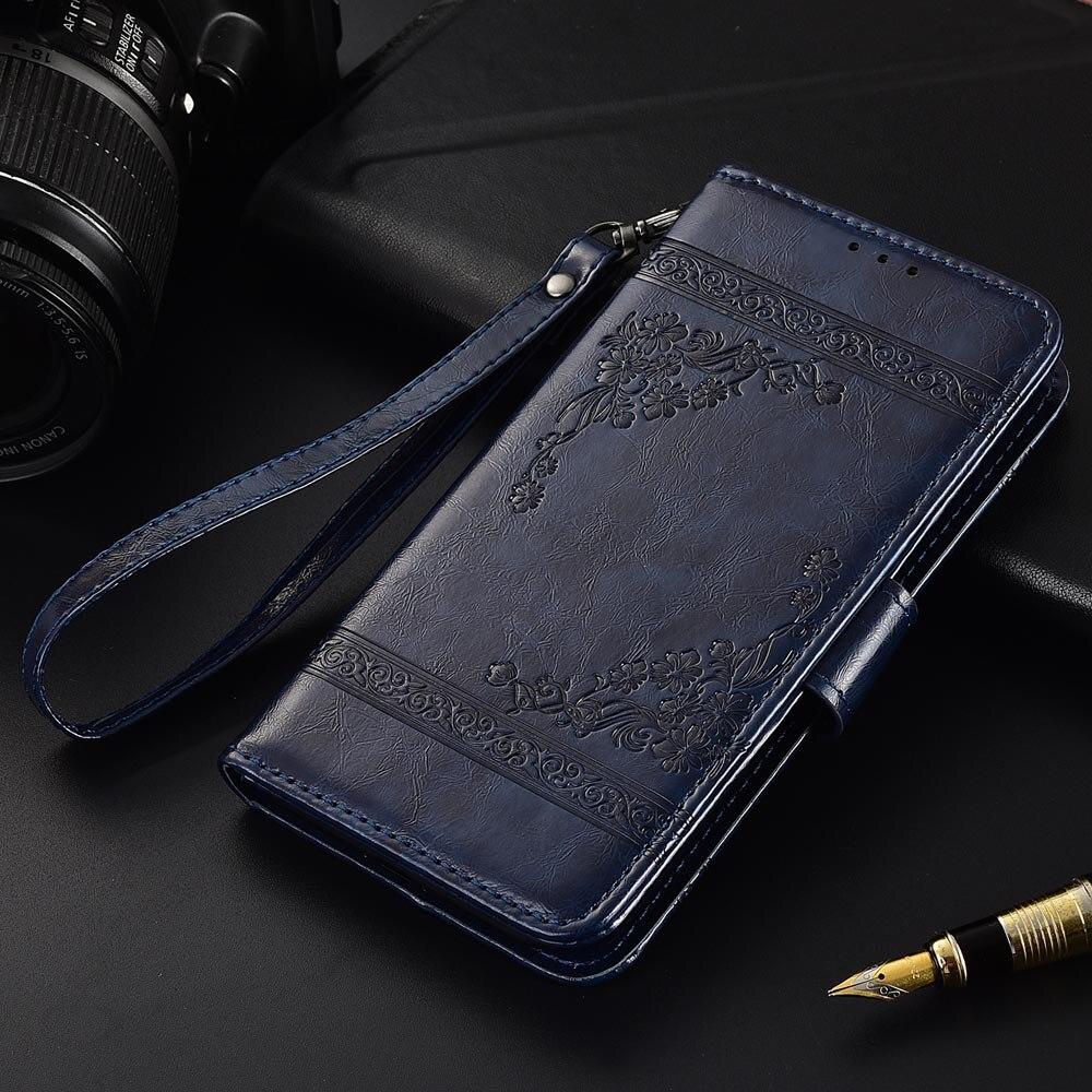 Кожаный чехол-книжка для Fly FS504 Cirrus 2 Fundas с цветочным принтом, 100% специальный чехол-кошелек с подставкой и ремешком