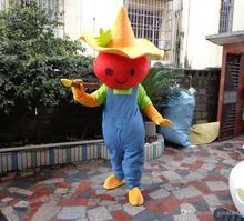Nuovo Arrivo Cappelli di Paglia Persone Costume Della Mascotte Pittore Stage Performance Dress Formato Adulto Libera Il Trasporto