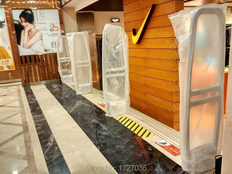 58khz Eas AM alarm gate Clothes Store Eas System RX+TX 2pcs enlarge