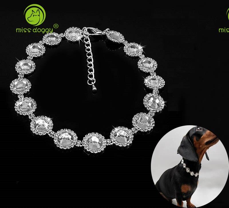 Kristall Strass Haustier Katze Halskette Delicate Bling Katze Kragen Glänzende Halstuch Für Hochzeit Zubehör Pet Produkte