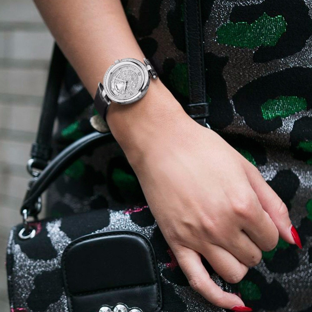 BUREI Top Brand Ladies Fashion Watch Woman Luxury Waterproof Sapphire Leather Bracelet Casual Quartz Wristwatch Relogio Feminino enlarge