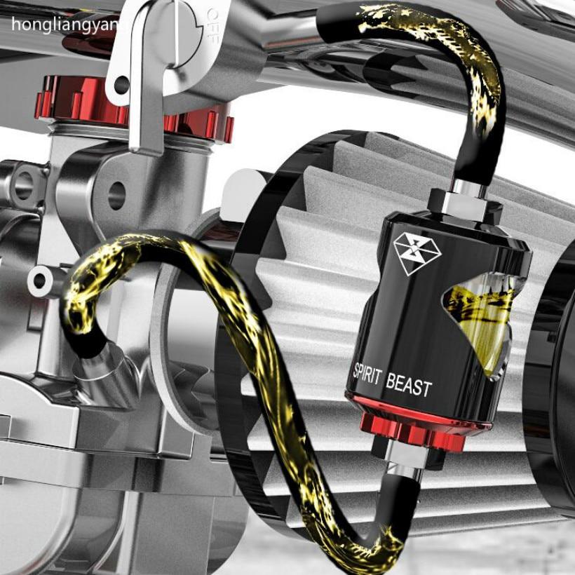Универсальные масляные фильтры spirit beast для скутера, мотоцикла, масляный фильтр, масляный фильтр, удаление примесей, бесплатная доставка