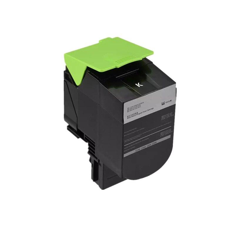 8000 paginas Zwarte toner 310 voor Lexmark CX 310 toner cartridge CX410E CX510DE CX310N voor Lexmark CS310 CX410 CX510 laser printer