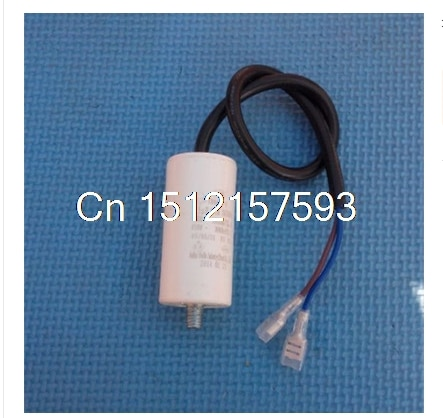 Стиральная машина холодильник морозильник CBB65A-2 неполярный AC 450V 12 мкФ 5% двигатель работает конденсатор белый 40x85 мм 8 мм резьба