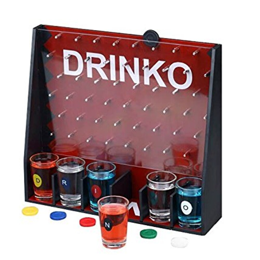 "Juego de mesa GoGifts, juego de fiesta para beber chupitos Drinko, para diversión para Vote, ""Juego bomba"" para divertirse"