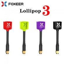 Foxeer Lollipop 3 V3 Antenna 5.8G 2.5Dbi TX RX RHCP SMA RPSMA UFL Straight/Angle MMCX FPV Antenna For RC Drone