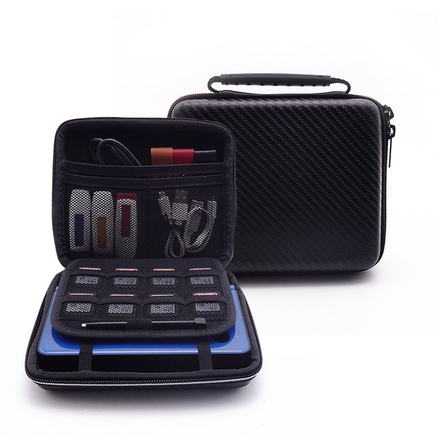 Hard shell case bag Black Travel Carrying Protective Case for Nintendo 2DS