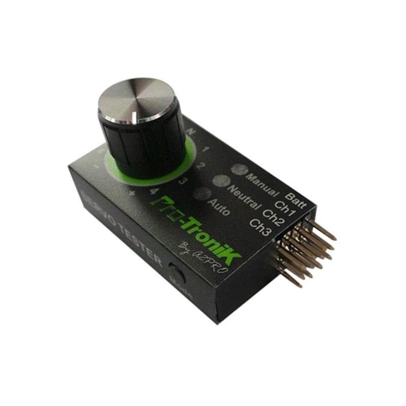 Mejor oferta Mini Servo probador 4,8 V a 6,0 V STV2.3 probador BEC