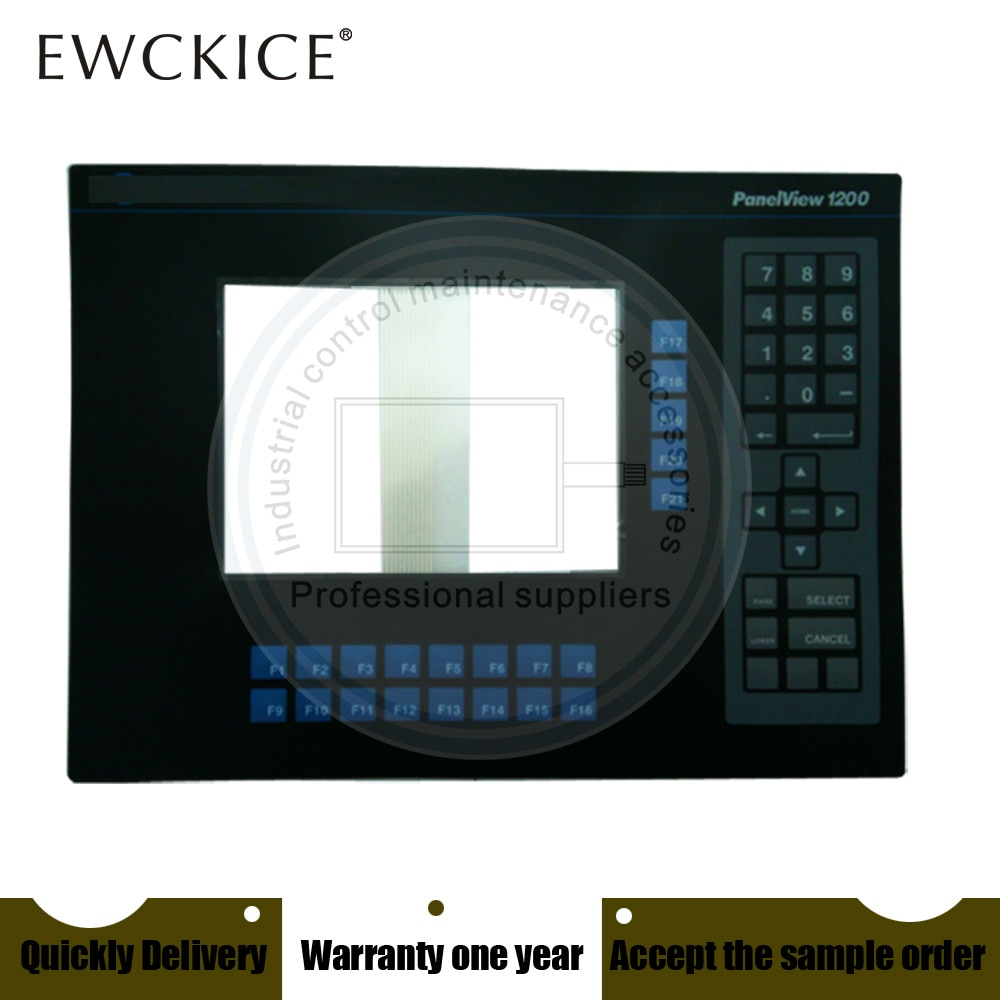 NEW PanelView 1200 2711-KA1 2711-KC1  2711-KC1X HMI PLC Membrane Switch keypad keyboard