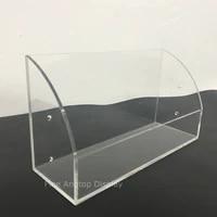 clear acrylic jewelry sunglasses display cosmetic organizer makeup brush storage box bin counter jewellery accessory holder