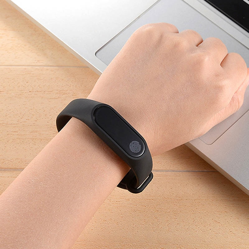 Pulsera inteligente M2 pulsera de corazón impermeable Deporte Fitness banda Stepcount mensaje Smart Loop DU55