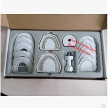 1 ensemble de système de modèle de laboratoire dentaire pour outil déquipement de Machine de broche Laser sur le travail de modèle de plâtre comme indiqué sur la photo