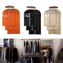 Couverture de costume de 3 tailles   Jupe jupe de vêtement, chemise, transporteur de vêtements, tissu Non tissé, couvertures de vêtements, noir et Beige