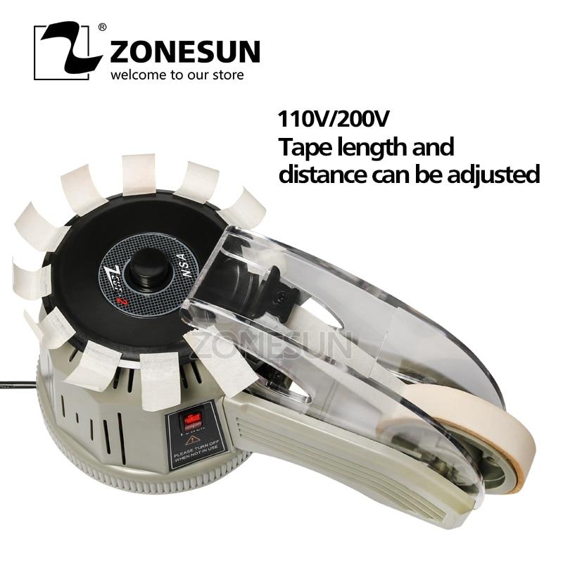 Zonesun ZCUT-2 máquina de distribuição de fita industrial dispensadores de fita automática cortadores de fita