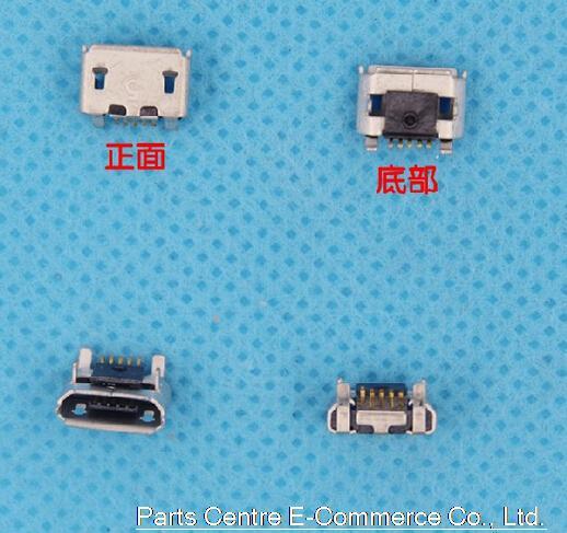 0000 Original nuevo puerto de carga USB para BlackBerry 8520, 8530, 8550, 9700, 9780 USB conector de carga del cargador Puerto conector dock