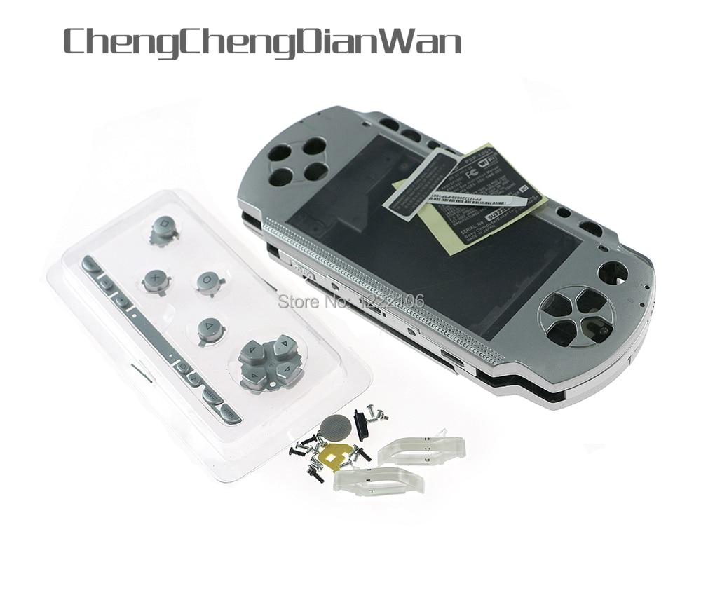 Набор кнопок chengdianwan для PSP 1000 PSP1000 с полным корпусом, Сменный Чехол, высокое качество